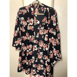 Lane Bryant Short Length Kimono